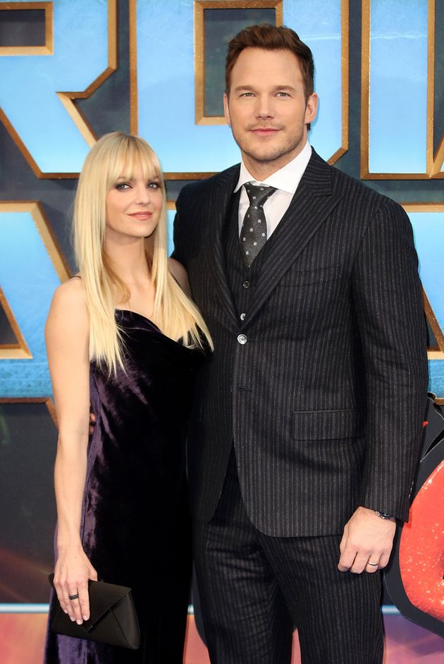 Anna Faris with her ex-husband Chris Pratt at a screening of