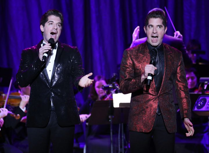 Twin brothers Will (left) and Anthony Nunziata have performed across the country as a duo.