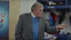Le «91,9 Sports» reprend une scène de «Lance et Compte» pour annoncer ses