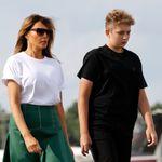 Melania Trump en colère après la mention de son fils Barron lors d'une audition au