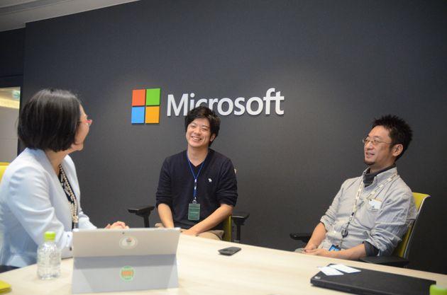 体験談を話してくださった土居さん(右)、永谷さん
