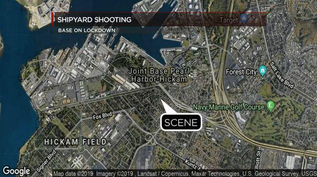 Une fusillade a éclaté sur la base navale de Pearl Harbor à Hawaï, ce 4