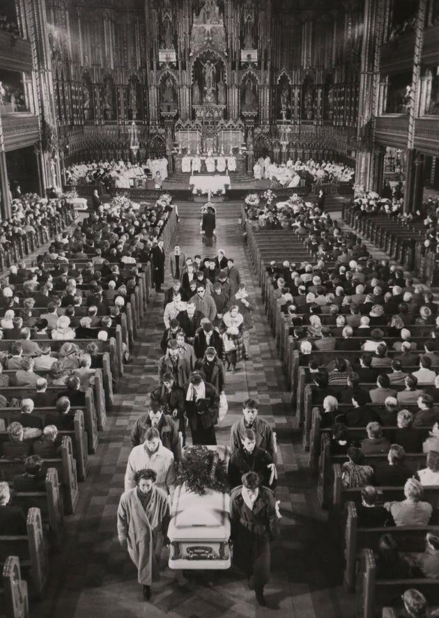 1989년 12월 6일 벌어진 폴리테크니크 대학 총격 사건 희생자의 장례식