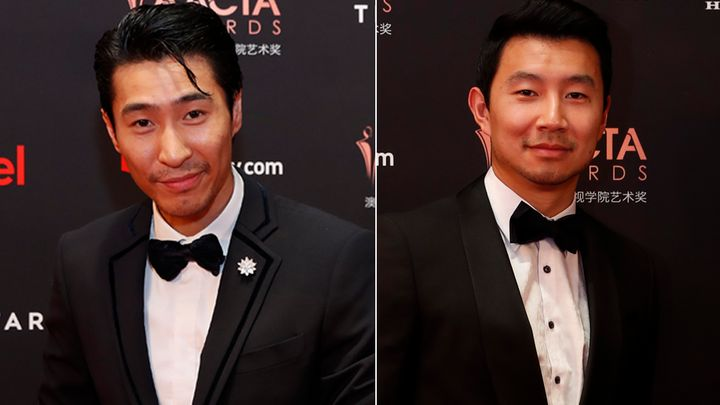 A publication has previously mixed up Chris Pang (L) and Simu Liu (R).
