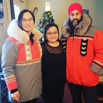 Meet The Inuk Seamstress Behind Jagmeet Singh's Incredible