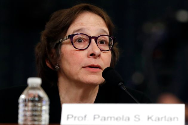 Constitutional law scholar Stanford Law School professor Pamela Karlan apologizes for a remark she made...