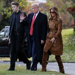 L'impeachment per Trump va avanti. Melania indignata per battuta sul figlio