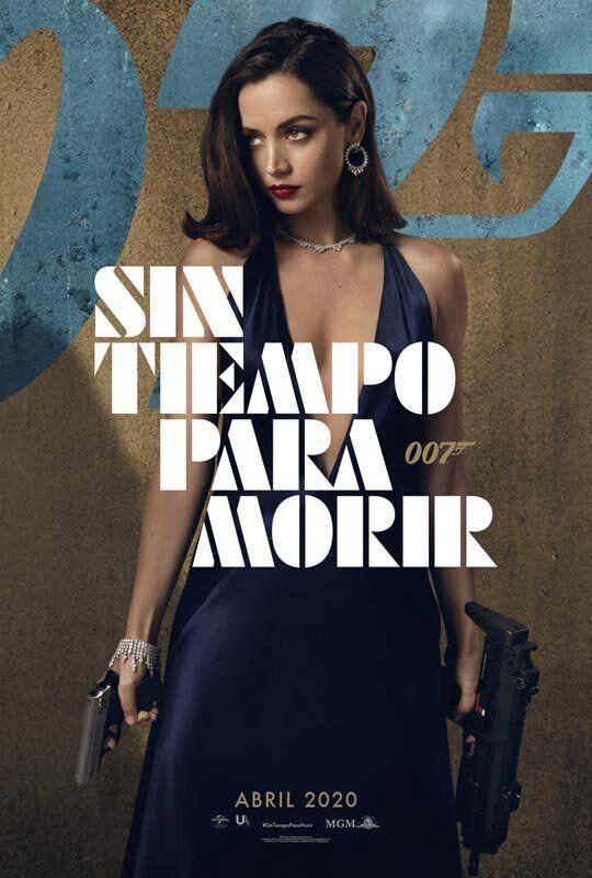 Ana de Armas, en el poster de 'Sin tiempo para