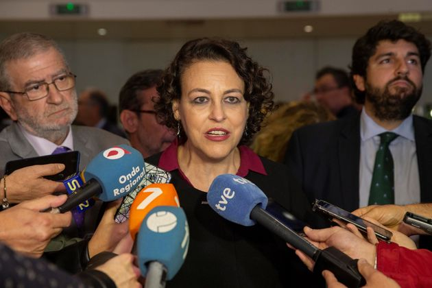 La ministra en funciones de Trabajo, Migraciones y Seguridad Social, Magdalena