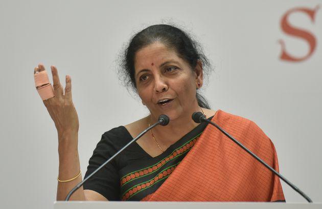File image of Union Minister Nirmala