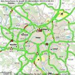 Pas de bouchons, péage gratuit à Saint-Arnoult... la grève vue des routes