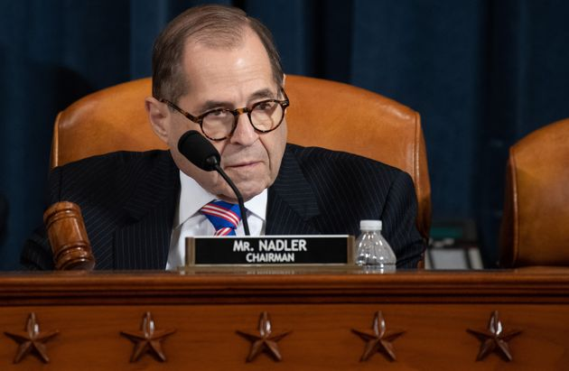 House Judiciary Chairman Jerrold Nadler, Democrat of New York, speaks during a House Judiciary Committee...