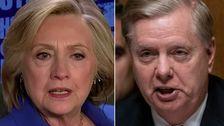 Hillary Clinton Adalah Truf Pemuja Lindsey Graham Dengan 'Otak Merebut' Menggali