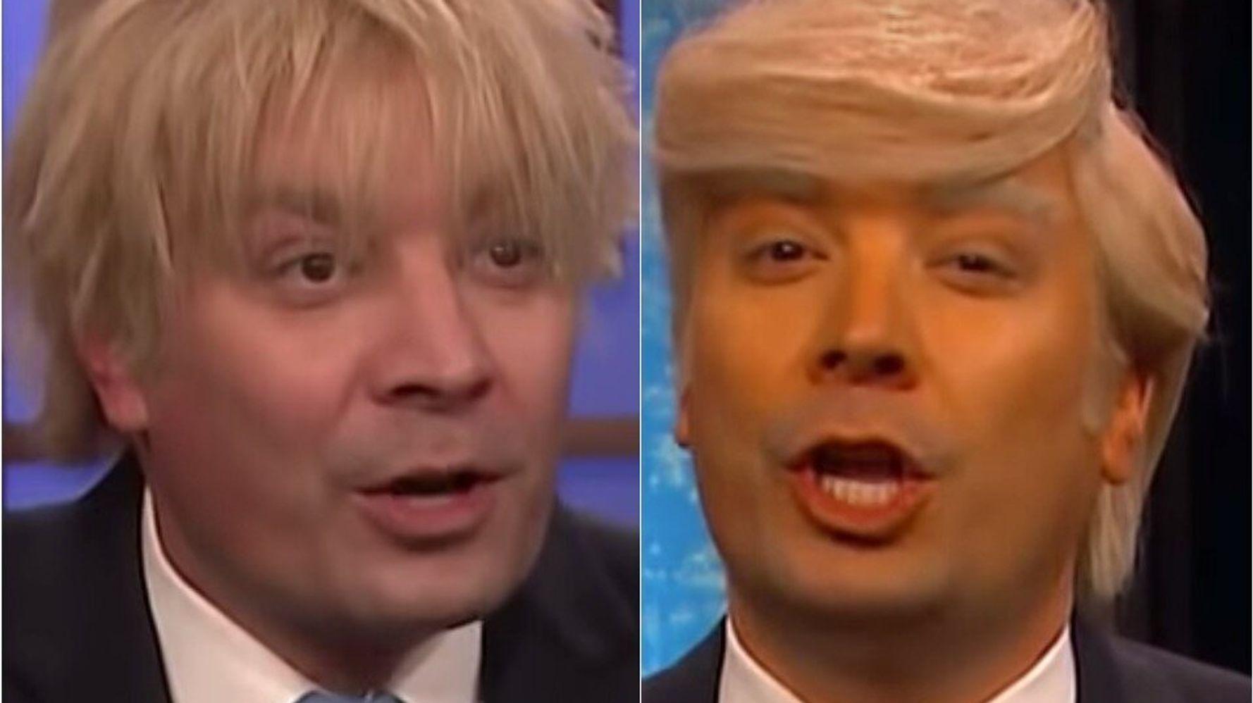 Westlake Legal Group 5de8c18621000058e434f153 Trump And Boris Johnson Take Center Stage In Jimmy Fallon's New Talk Show