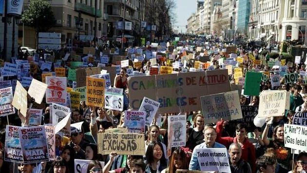 Manifestación por el clima en