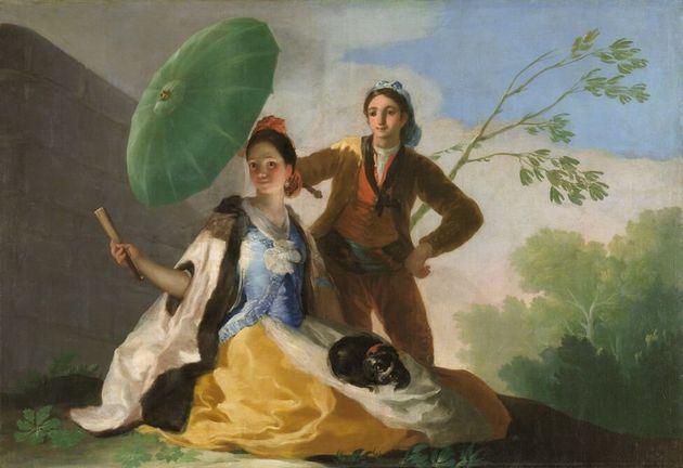 """Le parasol"" de Francisco de Goya"