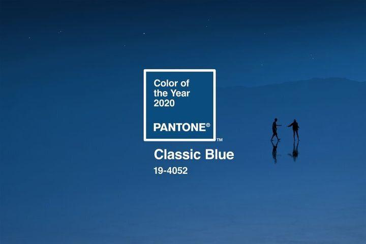 """Le """"classic blue"""" sera la couleur de l'année 2020 selon Pantone"""