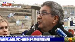 Critiqué pour ses propos sur Le Pen, Mélenchon dénonce