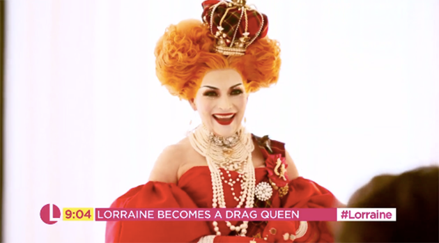 Lorraine Kelly Becomes Drag Queen Morning Gloria For Iconic Attitude Magazine Shoot