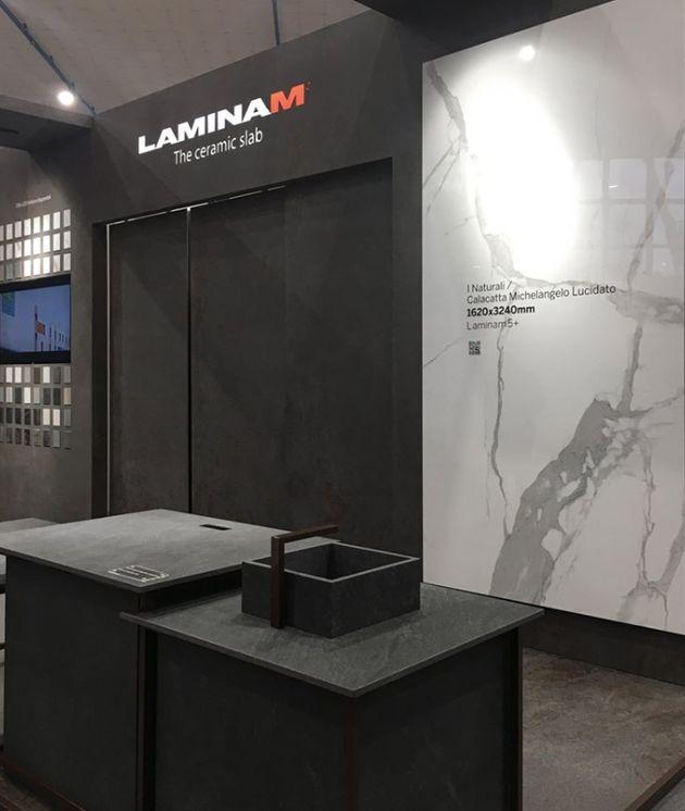 """LAMINAM prima tra """"LeQuotabili19""""di PAMBIANCO. E l'azienda sbarca in"""