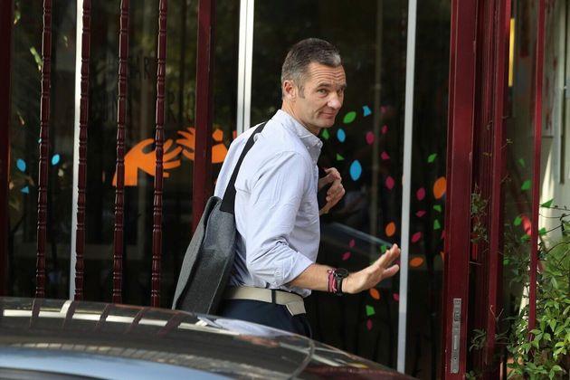 Iñaki Urdangarin, a su llegada al Hogar Don Orione de Pozuelo de Alarcón