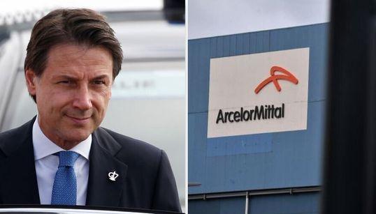"""INACCETTABILE - Conte boccia il piano Mittal per Taranto: """"Non va bene, lo"""