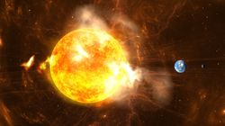 Το τέλος του κόσμου σε βίντεο: Ετσι θα «καταπιεί» ο Ηλιος τη