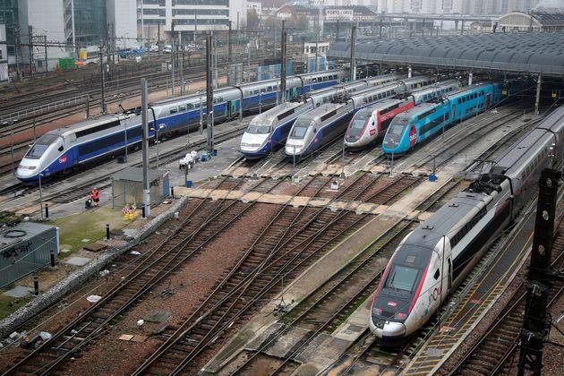 Comme ce jeudi, la majorité des TGV resteront à quai vendredi 6