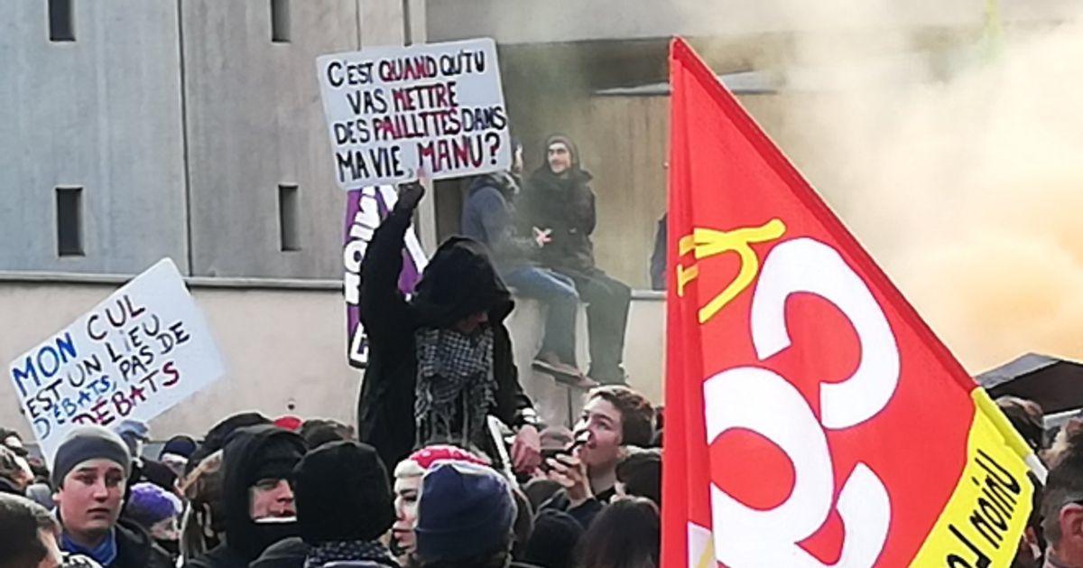 """À la manif du 5 décembre, les grévistes veulent des """"paillettes"""" dans leur retraite"""