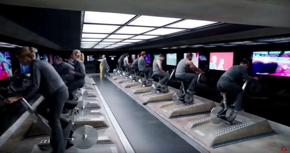 Σκηνή από το επεισόδιο «Δεκαπέντε Εκατομμύρια Χρηματομονάδες», της διάσημης τηλεοπτικής σειράς «Μαύρος