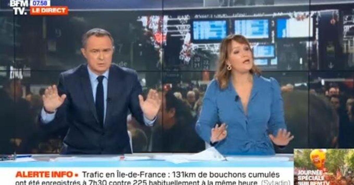 Ce présentateur de BFMTV recadre son invité en taclant Pascal Praud
