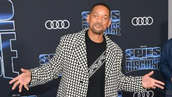 "LOS ANGELES, CALIFORNIA - DECEMBER 04: Will Smith attends thepPremiere of 20th Century Fox's ""Spies In Disguise"" at El Capitan Theatre on December 04, 2019 in Los Angeles, California. (Photo by Matt Winkelmeyer/Getty Images)"