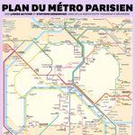 Le carte RATP du trafic