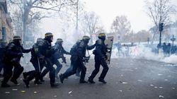 Enfrentamientos entre policías y manifestantes en