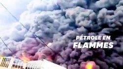 Les images d'un gigantesque incendie au Nigéria après l'explosion d'un