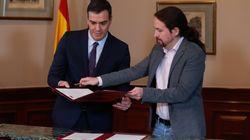Sánchez e Iglesias se reúnen en secreto en La Moncloa antes de la ronda de consultas de Felipe