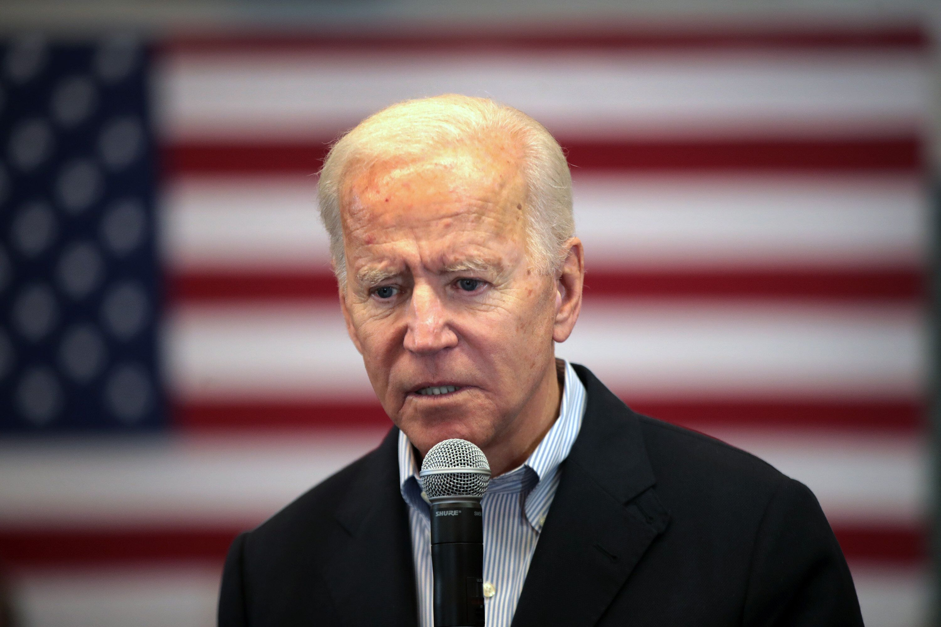 Joe Biden Snaps At Voter During ...