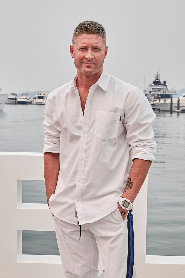 Michael Clarke at the Hublot Loves Summer event in Sydney on