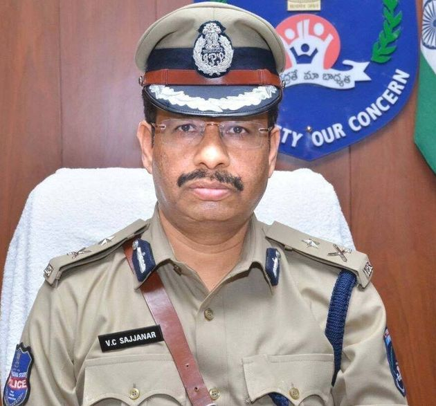 V.C. Sajjanar, Hyderabad Police