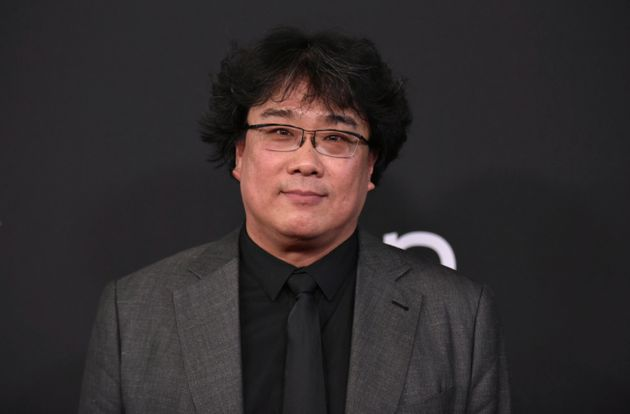 Bong Joon-ho arrives at the 23rd annual Hollywood Film Awards on Sunday, Nov. 3, 2019, at the Beverly...
