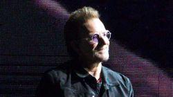 'U2' 보노가 문재인 대통령과