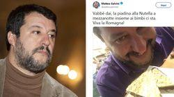 Salvini contro la nutella: