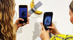 마이애미에서 테이프 붙인 바나나가 1억 4천만원에