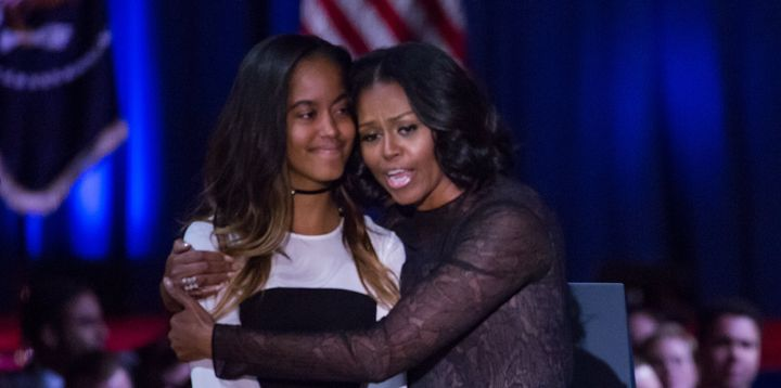 Michelle Obama traverse une période qui doit parler à beaucoup de parents