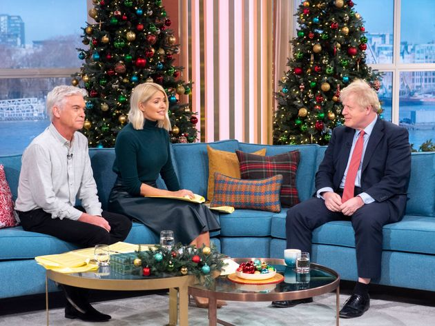 Johnson was interviewed on the ITV daytime show on