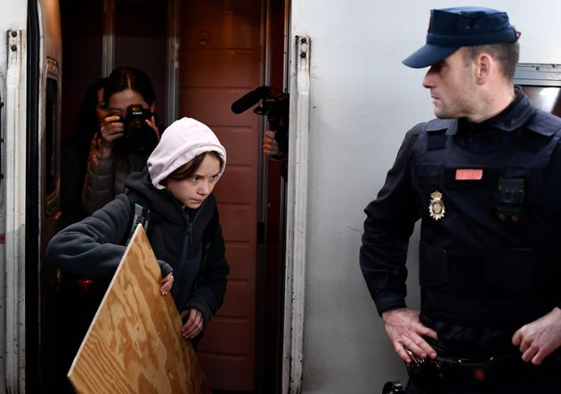 Greta Thunberg est arrivée à Madrid pour la COP25