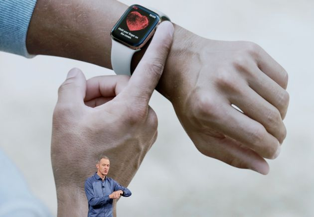 Jeff Williams, Apple's chief operating officer, speaks about the Apple Watch Series