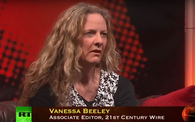 Vanessa Beeley is a regular on Russian state-backed media