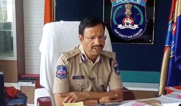 V.C. Sajjanar, police commissioner of