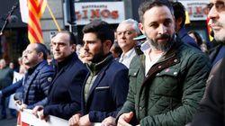 PP y Vox se manifiestan en Barcelona